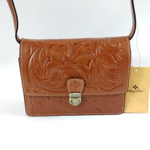 Patricia Nash Tooled Leather Crossbody Laurentina